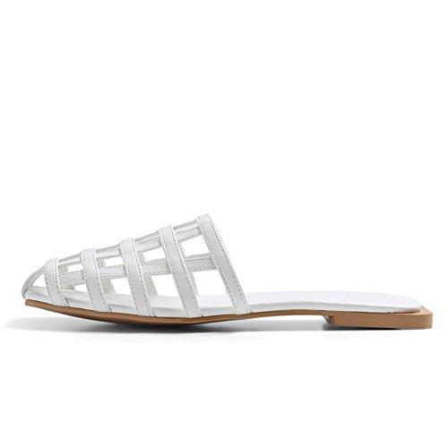 Pantofole cave usate di moda estiva/Europa piatta e sandali degli stati uniti A