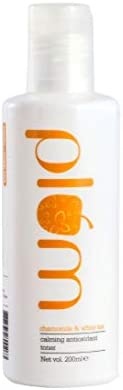 Plum Chamomile & White Tea Calming Antioxidant Toner | Vitamin B3 | For Normal, Combination Skin | 100% Ve
