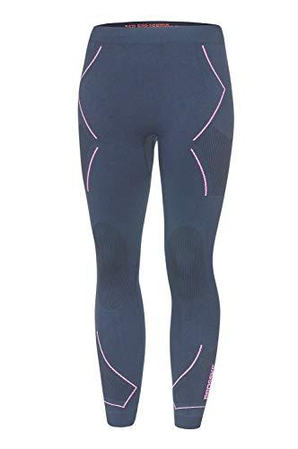 Prosske Damen Funktionsunterhose Xtreme Funktionsunterwäsche Skiunterwäsche - Graphit-violett, L