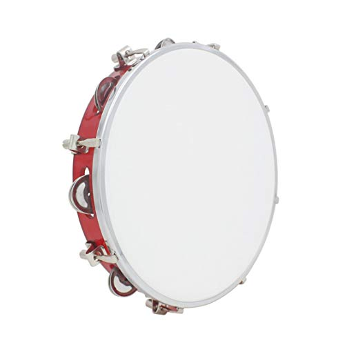 LouiseEvel215 10-inch Adjustable Hand Tambourine