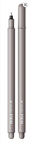 Pennarello Tratto Pen Metal Look 0,5Mm Grigio Ghiaccio n.24 1Pz
