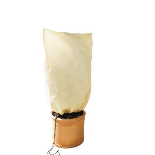 Bio Green Winterschutz Kübelpflanzensack, beige, S 80x 60 cm