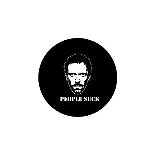 alterEgo People Suck House Vinyl Sticker