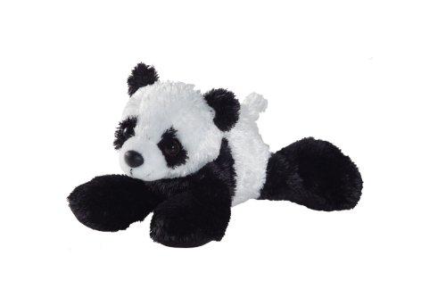 Aurora- Peluche Panda Couche 20 cm, 12756