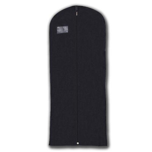 Hangerworld Schwarzer atmungsaktiver Kleidersack 152 cm