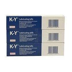 K-Y Lubricating Jelly Triple Pack 3 x 82g