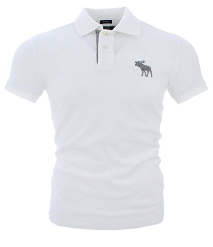 abercrombie-fitch-herren-kurzarm-polo-weiss-graues-logo-muscle-s