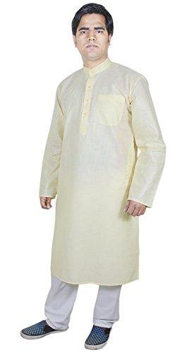 Indische Kleidung Herren Stickerei Stoff Schlafanzugoberteile Hochzeit Kleidung Herren Größe - 112 cm