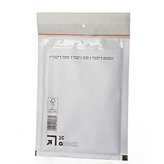 100 Luftpolstertaschen C3 Größe außen 170x225mm DIN A5 B6+ Luftpolsterumschläge Luftpolsterversandtaschen Farbe: weiß