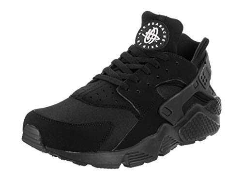 timeless design 7fd11 1420f Nike Mens Air Huarache Black Mesh Trainers 45.5 EU
