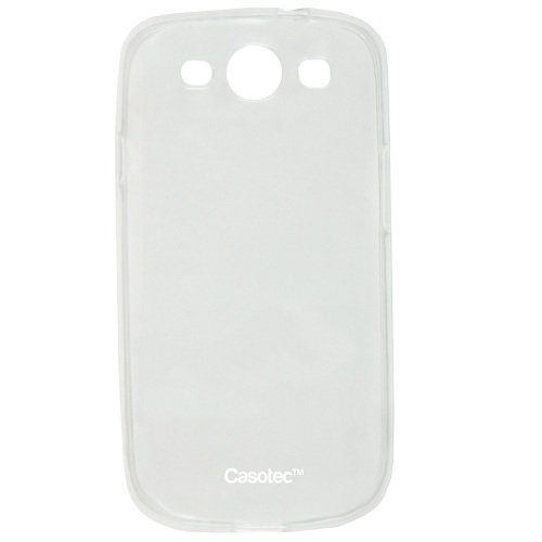 Casotec Soft TPU Back Case Cover for Samsung Galaxy S3 i9300 - Clear  available at amazon for Rs.199