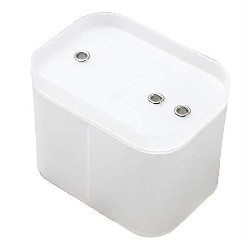 WLLBT Distributeur d'eau d'oxygène Actif électrique Chat et Chien Distributeur d'eau Intelligent pour Animaux de Compagnie à Circulation Automatique 15.5X11.5X12cm W-US
