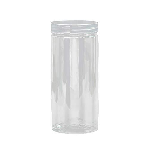 Küche Lagerung Box,routinfly Frischhaltedose Abdichtung Lebensmittel Erhaltung Durchsichtigen Behälter Set mit Gießen Deckel Snacks Trockenfrüchte Körner Speicher Getreide (D, 1PC) (Speicher-behälter-set Mit Deckel)