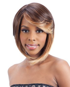FreeTress Equal Synthetic Hair Wig - ABREE (P1B/30 - OFF BLK/MED AUBURN) by Freetress