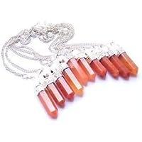 Wunderschöne Viel Zehn 2in 1, orange Aventurin Quarz Pointer Anhänger mit Pendeln Crystal Healing Herren Frauen... preisvergleich bei billige-tabletten.eu