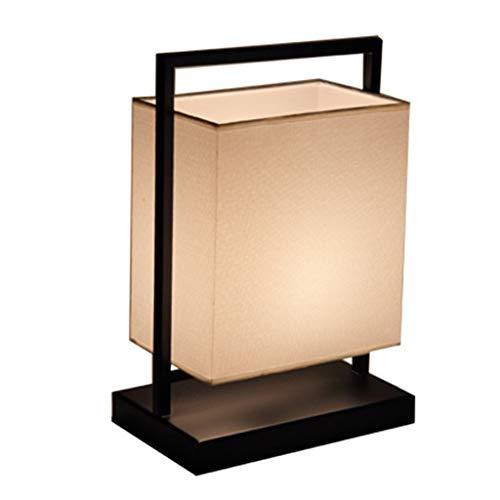 Lampes de table Lampe De Chambre À Coucher Salon Table Basse Lampe De Chevet Protection des Yeux Lampe De Bureau Éclairage LED De Luxe (Color : Brown, Size : 27 * 15 * 40cm)