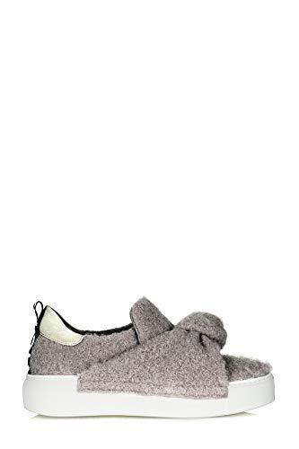 4bde04237dc3f4 VIC MATIÉ Women s 1T6698dq36tqhtagrey Grey Fabric Slip On Sneakers