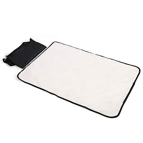 ghfcffdghrdshdfh Folding Pet Blanket Soft Waterproof Dog Cat Mat Cushion Outdoor Travel Dog Bed