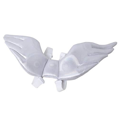 Balacoo Hund Engel flügel-Hund Halloween kostüme Kleiner Engel Hund kostüm Haustier Phantasie Cosplay kostüm Engel flügel für Hund - Flügel Und Halo Kostüm