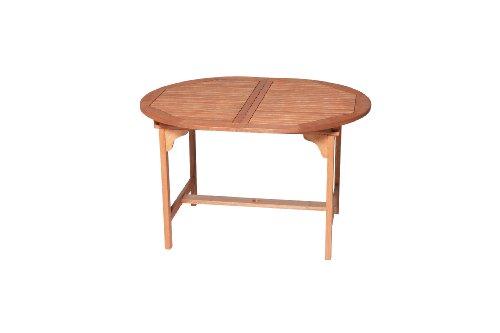 Ausziehbarer Holz Gartentisch - 3