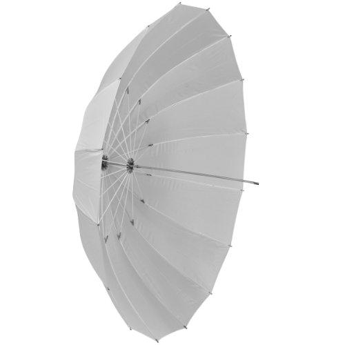 Walimex Parapluie translucide, 180 cm blanc