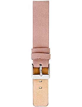 Oozoo Armband - Ersatzarmband für Oozoo Uhren etc. - 24 mm - Farbe : Pinkgrau