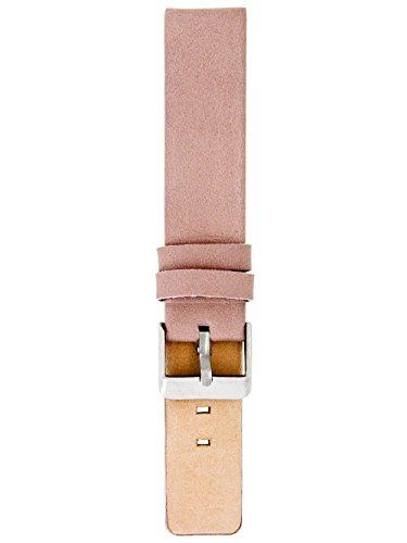 Oozoo Armband - Ersatzarmband für Oozoo Uhren etc. - 20 mm - Farbe : Pinkgrau