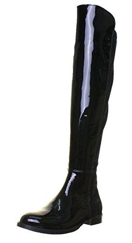 amen Stiefel & Stiefeletten, Schwarz - schwarzer Lack - Größe: 36 EU ()