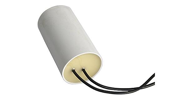 Aerzetix: Condensatore di avviamento e accensione 10cm cavo precablato C10418 Capacit/à 1/μF 450V