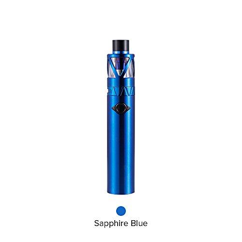 UWELL Whirl 20 Starter Kit 700mAh, E Zigarett Akku mit Vaporizer Extra Quartz Glass Tank 2ml/Ohne Nikotin Ohne Tabak (Blau)