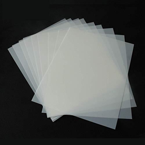 ATPWONZ Schablonenblätter, blanko, 30,5 x 30,5 cm, 7 mm Dicke, quadratisch, Schablonenpapier für Cricut-Silhouettenmaschinen
