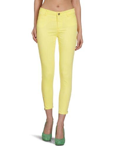 Vero Moda - Pantaloni Wonder, Donna Giallo (Gelb (LIMELIGHT))