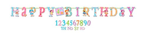d an Age Happy Birthday Letter Banner Jumbo ()