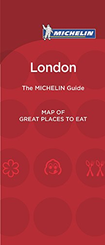 Michelin Map of London Great Places to Eat par Michelin Travel & Lifestyle