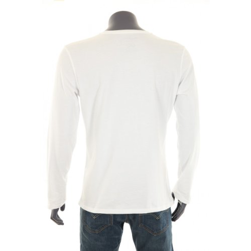 Pepe Jeans Herren T-Shirt PM501586 NEW FLAG LONG Beige
