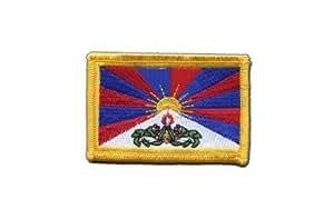 Écusson brodé Flag Patch Tibet - 8 x 6 cm