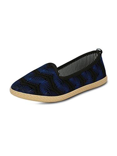 GET GLAMR Women's Blue Sneakers (Get (Get-2292) - 3 UK