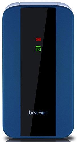 Beafon C260_EU001BL Mobiltelefon (Dual SIM, 2MP Kamera, 6,1 cm (2,4 Zoll)) blau
