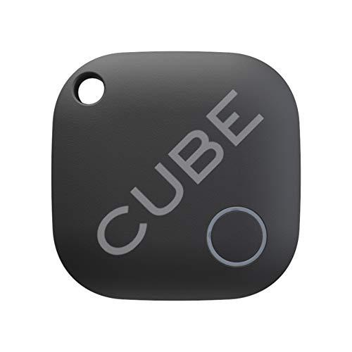 Cube Key Finder Smart Tracker Bluetooth GPS-Tracker für Hunde, Kinder, Katzen, Gepäck, Brieftasche, mit App für Telefon, austauschbarer Akku, wasserdichtes Ortungsgerät