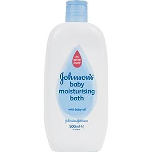 Johnson's Baby Moisturising Bath 2 x 500ml (1000ml Bath)