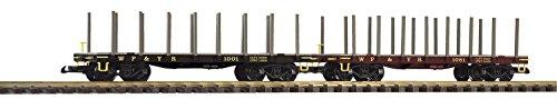 Piko 38743 G-Rungenwagen WP und YR, 2er-Pack, Schienenfahrzeug