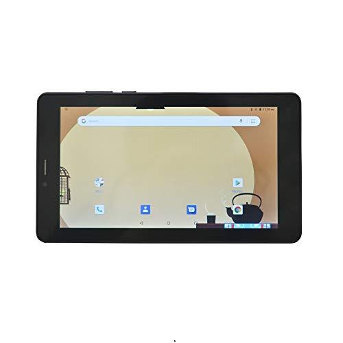 ibowin 7Inch globale No.1 Android 8.1OS IPS 1024 * 600 Auflösung 1G RAM 16G ROM Tablet PC MTK Quad Core entsperrt 3G WCDMA 2 SIM Karten Handy, AGPS Bluetooth WiFi, UK 3PIN Stecker - Schwarz