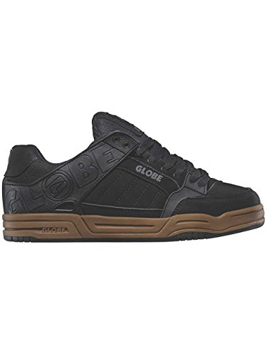 Globe Tilt, Chaussures de Skateboard homme Black/gum