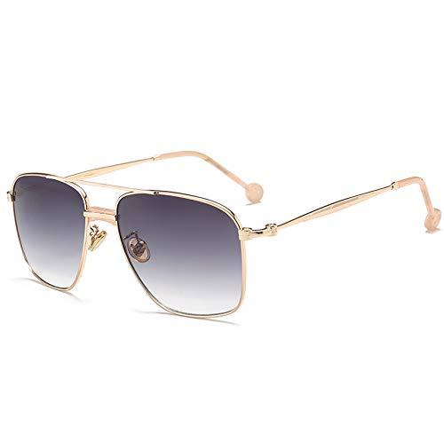 YLYZJH Sonnenbrille Männer Frauen Tönung Ocean LensSun Glasses Alloy Sunglasses