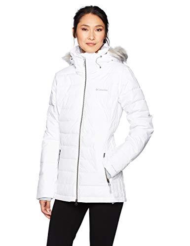 Columbia Ponderay, Veste de Ski pour Femme, Blanc (White), M