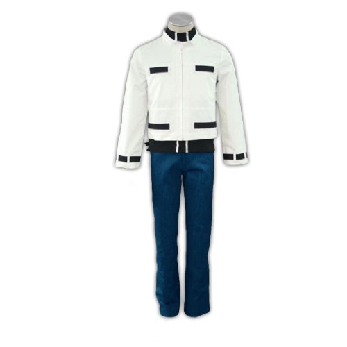 Dream2Reality japanische Anime The King of Fighters Cosplay Kostuem - Kyo Kusanagi 1st Ver Kid Size Large (Kyo Kusanagi Cosplay Kostüm)