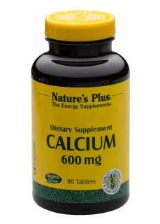 600 Mg 90 Tabs (Natures Plus CALCIUM 600MG TABLETS 90)