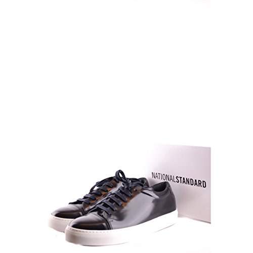 NATIONAL STANDARD - Baskets basses - Homme - Sneakers Edition 3 Cuir Lisse Bleu Marine pour homme Bleu