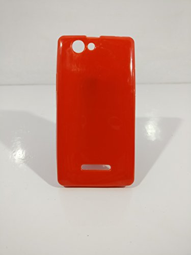 iCandy™ Colorfull Thin Soft TPU Back Cover For Xolo A500S - Red  available at amazon for Rs.109