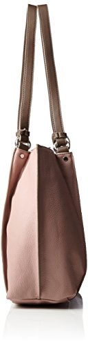 Tom Tailor - Tess, Borse Tote Donna Rosso (Rose)